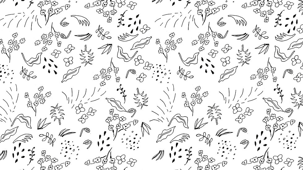 Doodle Ditsy Floral