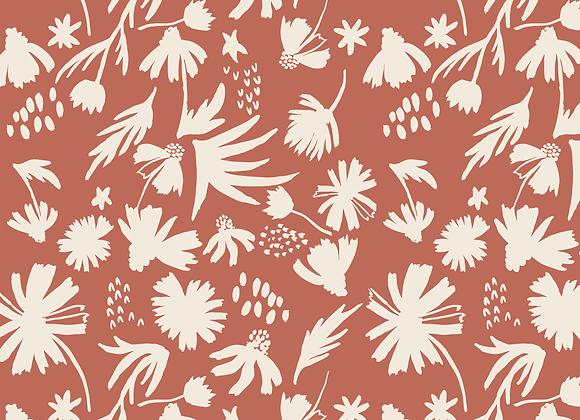 EM103 Chamomile Silhouette Floral