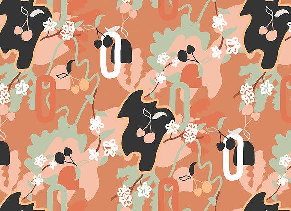 EM127 Cherry Blossom Collage