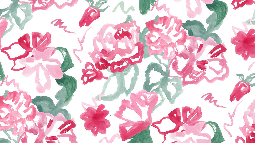 Painted Blooms
