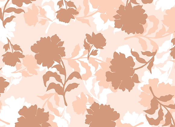 EM296 Earthy Silhouette Floral