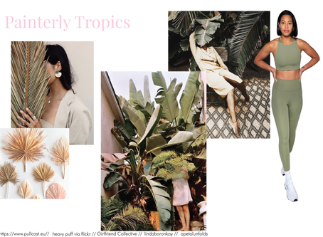Moodboard Mondays - Painterly Tropics