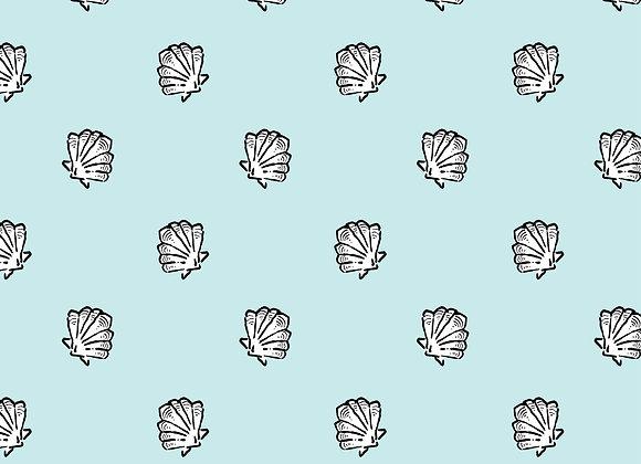 EM298 Simple Shell Polka Dot