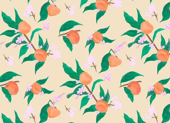 EM134 Painted Peach Blossom