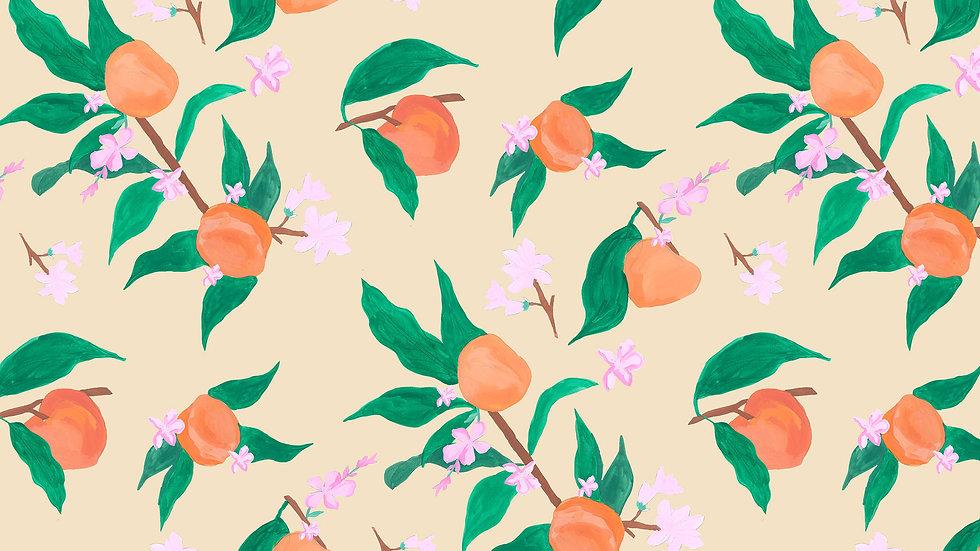 Painted Peach Blossom