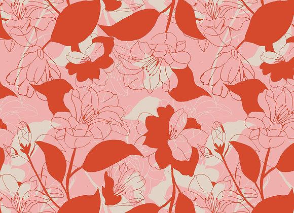 EM193 Floral Outline
