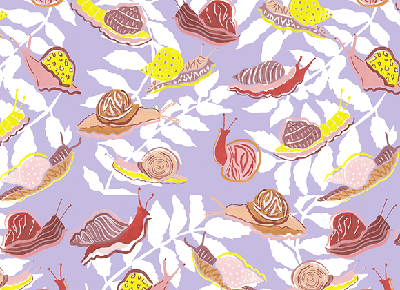 EM234 Enchanted Forest Patterned Snails