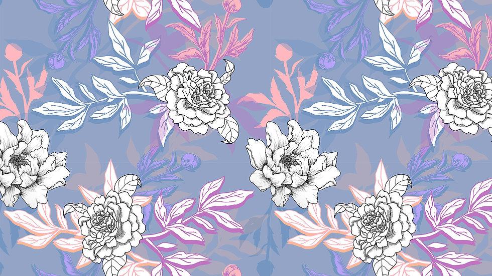 Pastel Illustrated Floral