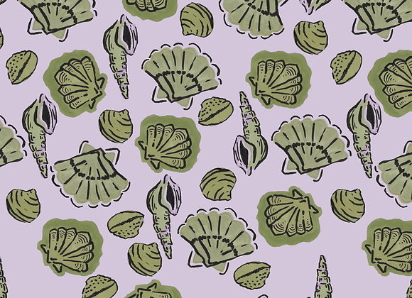 EM272 Shell Collection - Lilac & Pistachio