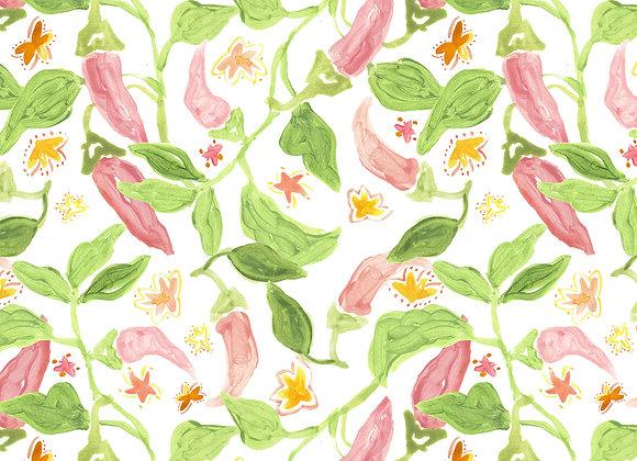 EM184 Chilli Flowers