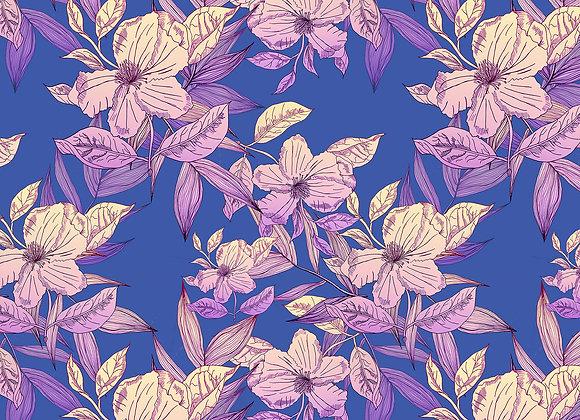 EM146 Ombre Illustrated Floral