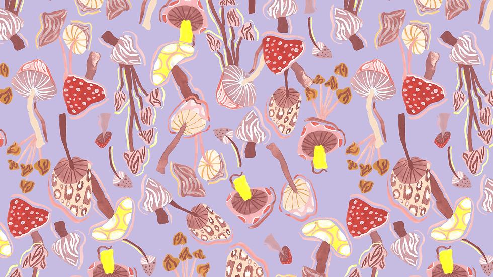 EM233 Enchanted Forest 02 Mushrooms