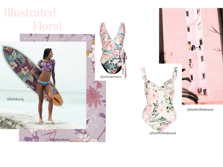 Moodboard Mondays - Illustrated Florals