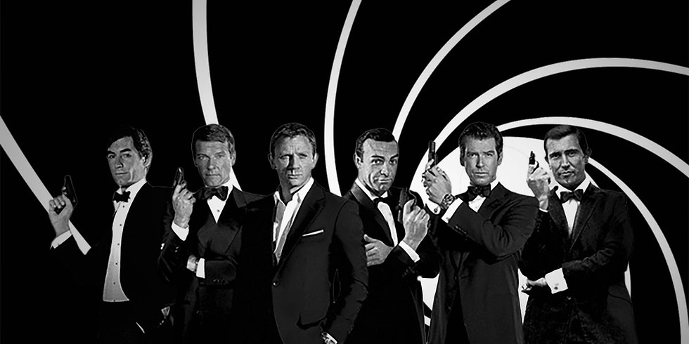 My name is Bond, James Bond.