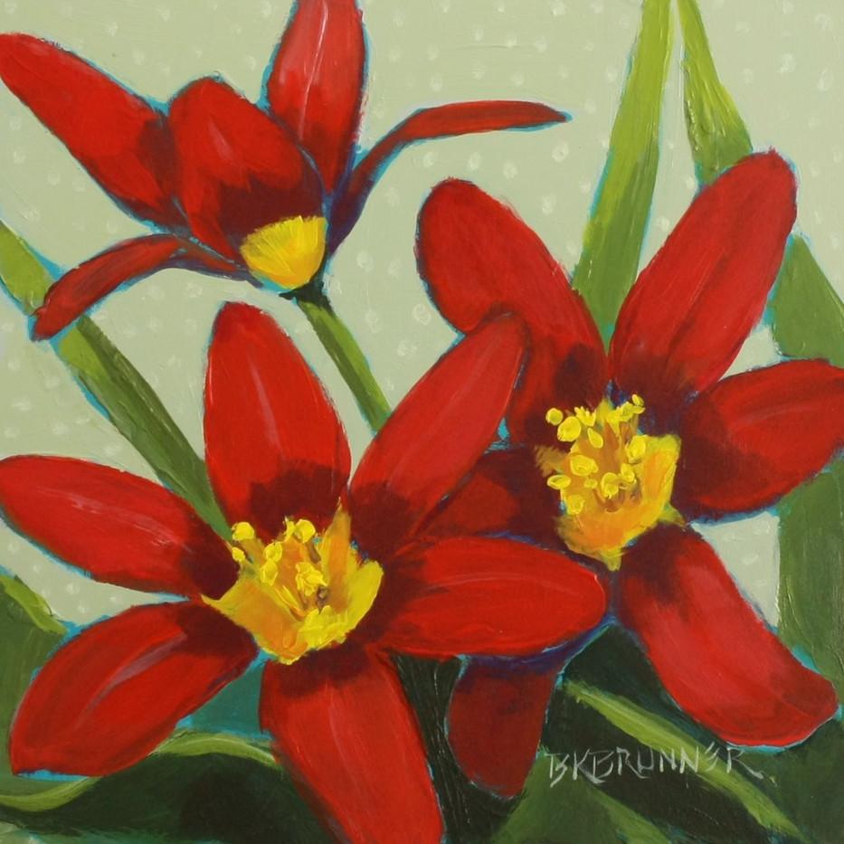 Tiny Red Tulips_1
