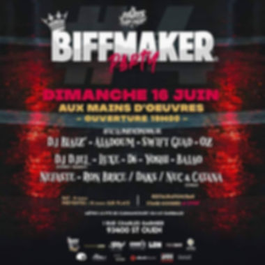 Biffmaker Party IV 16-06-2019