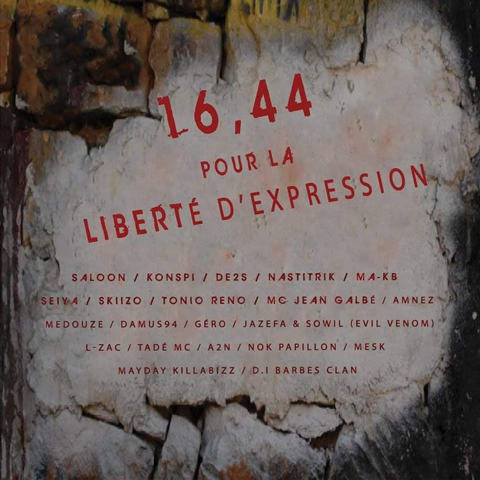 Compil 16'44 pour la liberté d'expression - SkiiZo