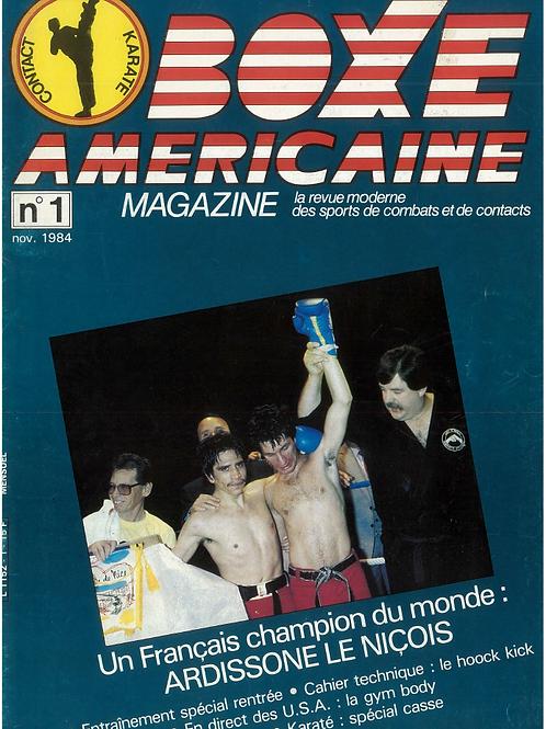 Boxe americaine #1 - nov 1984
