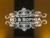 Sophia Sarno and RD Blakesley Saturday,