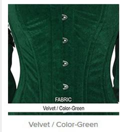 Velvet- Color-Green