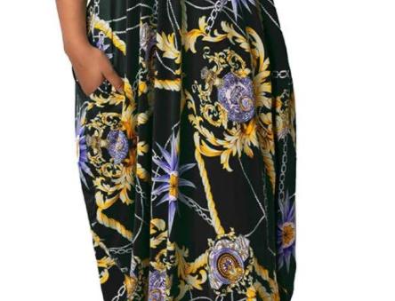 Maxi Dress W/ Pockets