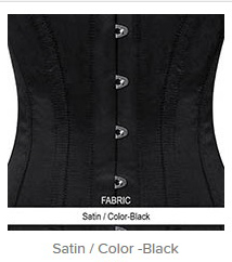 Satin - Color-Black