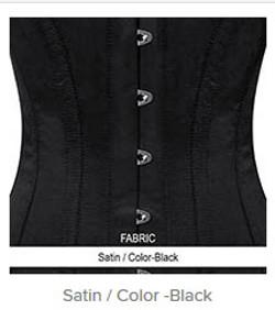 Satin - Color-Black