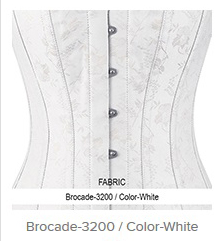 Brocade- 3200 Color- White