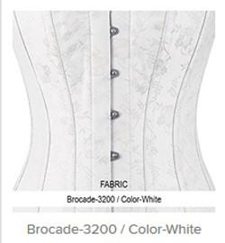 Brocade- 3200 Color- White