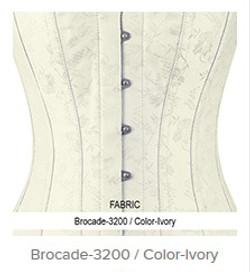 Brocade- 3200 Color- Ivory