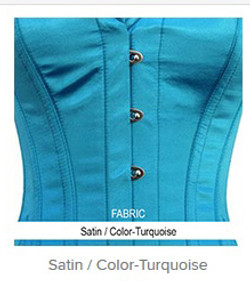 Satin- Color-Turquoise