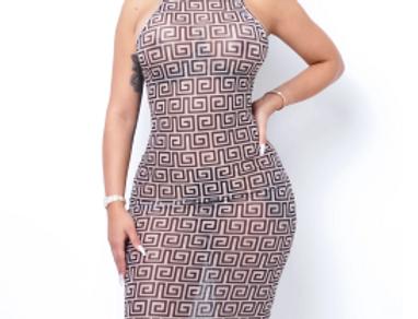 Caibo Midi Dress