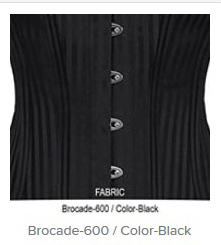 Brocade- 600 Color-Black