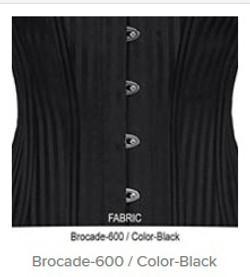 Brocade- 600 Color-Black