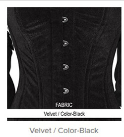 Velvet- Color-Black