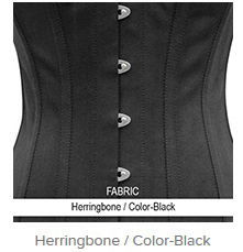 Herringbone- Color-Black