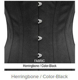 Herringbone- Color-Black