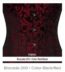 Borcade-200 Color-BlackRed