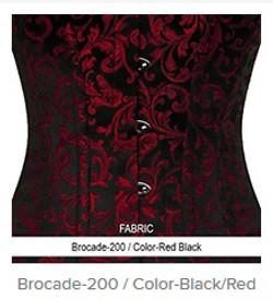 Borcade-200 Color-BlackRed