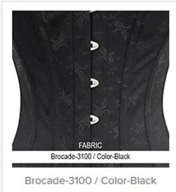 Brocade- 3100  Color- Black
