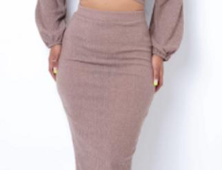 Myriam Two Piece Skirt Set