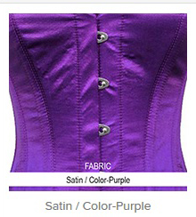 Satin- Color-Purple