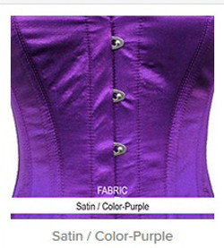 Satin- Color-Purple