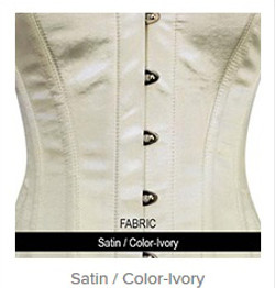Satin - Color- Ivory