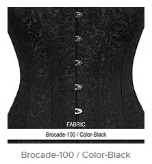 Brocade-100 Color-Black