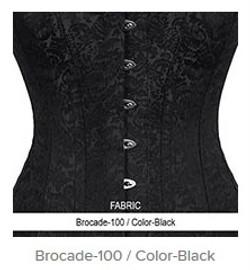Brocade-100 Color-Black