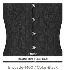 Brocade- 1400 Color- Black