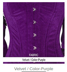 Velvet- Color-Purple