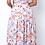 Thumbnail: Floral Vibes Two Piece Skirt Set - Blush