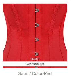 Satin - Color-Red